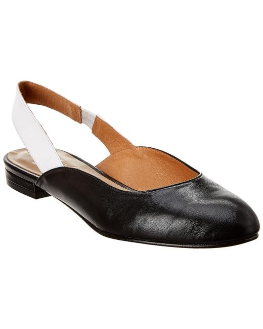 French Sole Leather Madrid Flats 13114311570004 Image 1