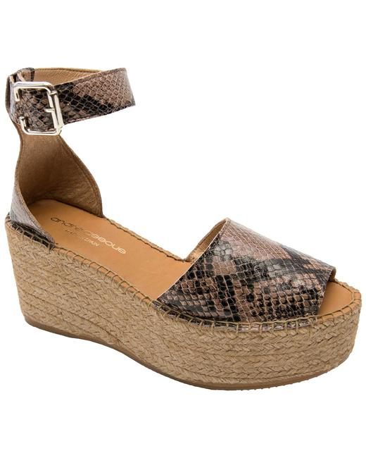 Item - Luz Leather Sandal Luz-aa Wedges