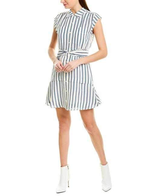10 Crosby Derek Lam Striped Shirtdress Tp91538rs Casual Maxi Dress 14119236800004 Image 1