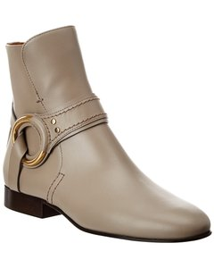 Chloé Demi Buckle Leather Chc20a35 991 23w Boots/Booties