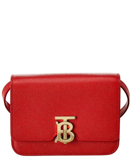 Burberry Mini Tb Leather 8020611 Shoulder Bag Burberry Mini Tb Leather 8020611 Shoulder Bag Image 1