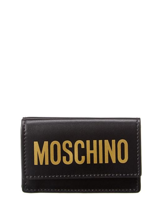 Item - Logo Print Leather French Wallet 8105 8001 2555 Accessory