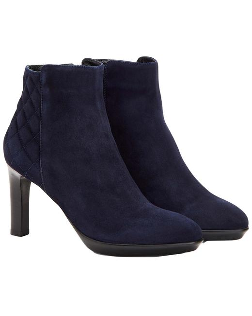 Item - Ruthie Weatherproof Suede 34l3213-nvy Boots/Booties
