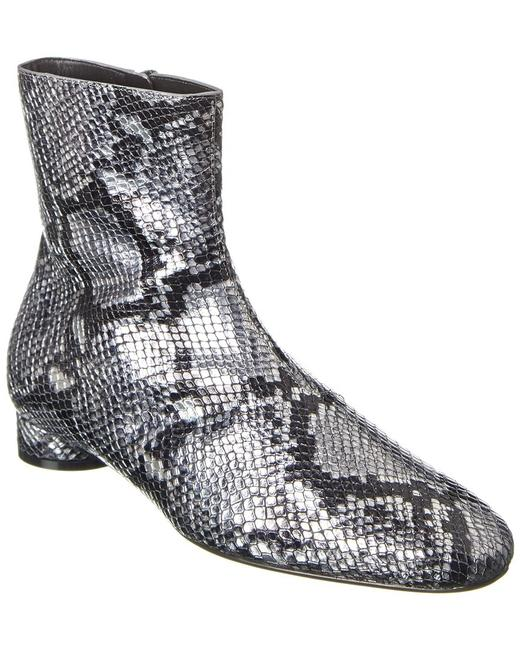 Item - Snake-embossed Leather 591010 Wa9l0 8100 Boots/Booties
