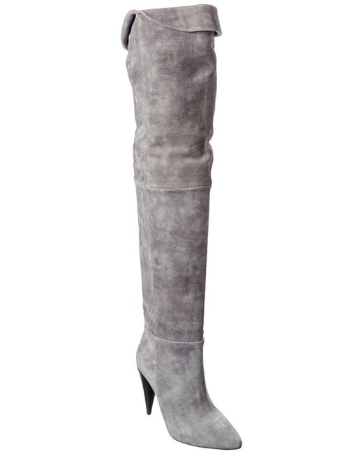 Item - Groove Suede Over-the-knee Wp36groove Boots/Booties