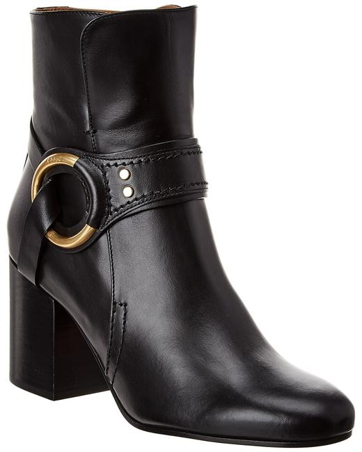 Chloé Demi Buckle Leather Chc20a36 091 001 Boots/Booties Chloé Demi Buckle Leather Chc20a36 091 001 Boots/Booties Image 1