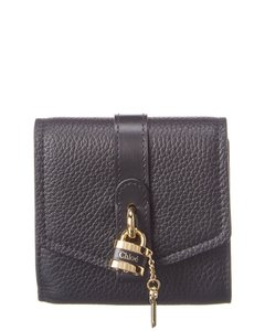 Chloé Aby Leather Trifold Wallet Chc20sp315 B71 001 Accessory