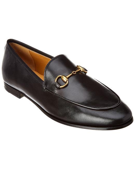 Gucci Jordaan Leather 404069 Blm00 Loafers Gucci Jordaan Leather 404069 Blm00 Loafers Image 1