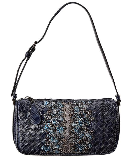 Item - Intrecciato Snakeskin 440826 Vcbz1 8971 Shoulder Bag