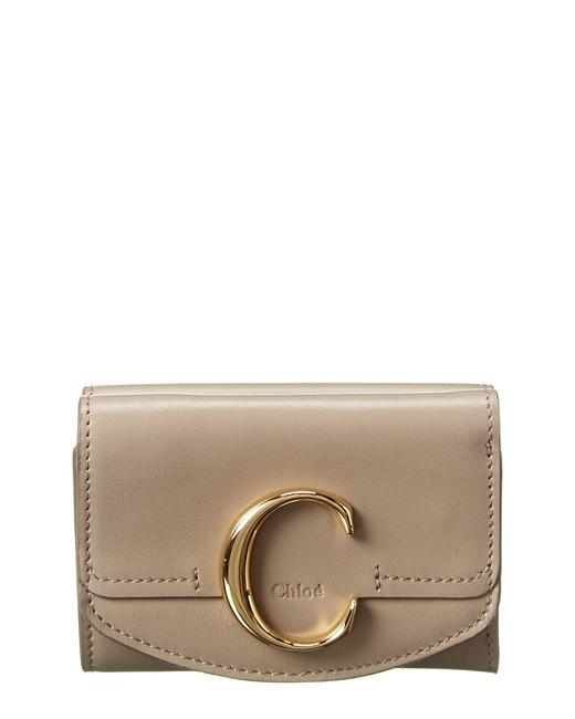Item - Mini Leather Trifold Wallet Chc19up058 A37 23w Accessory