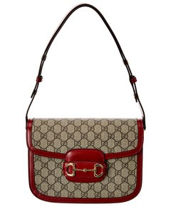 Gucci Horsebit 1955 Gg Supreme Canvas & Leather 602204 92tcg 8561 Shoulder Bag
